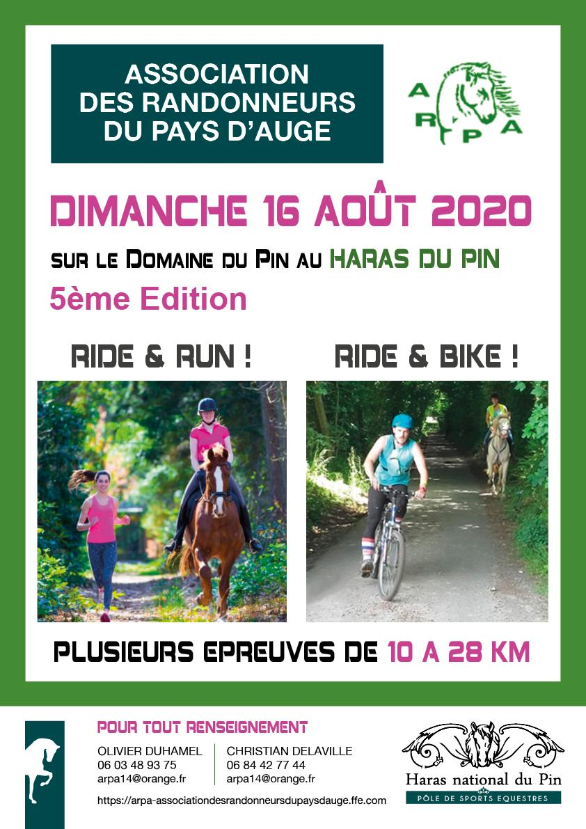 Ride Run Bike (61) Le Pin aux Haras